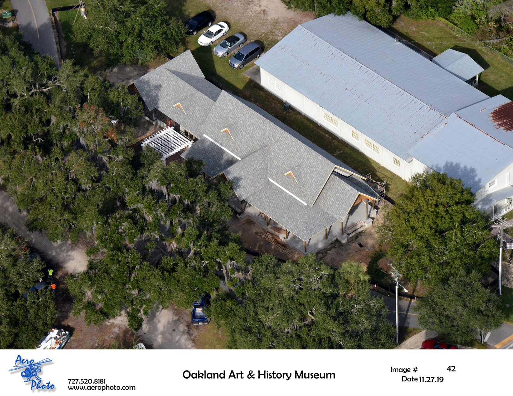 Healthy West Orange Arts & Heritage Center Second Aerial Construction Image