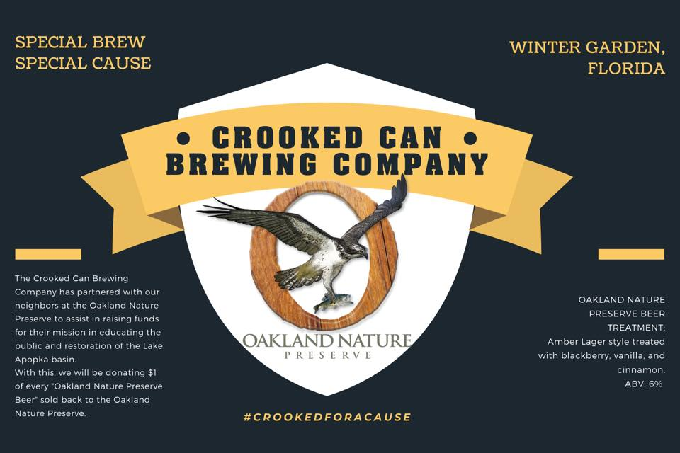 Crooked Can's Oakland Nature Preserve specialty beer