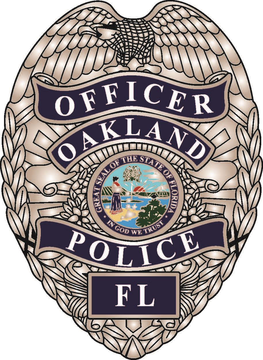 Oakland PD badge